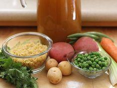 Sopa de Pasta - AntojandoAndo Pasta Casera, Baby First Foods, Pasta Soup, Meals For One, Recipies, Beans, Vegetables, Healthy, Cilantro