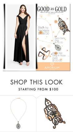 """""""Amorium Jewelry 1."""" by adanes ❤ liked on Polyvore featuring Amorium, women's clothing, women, female, woman, misses and juniors"""