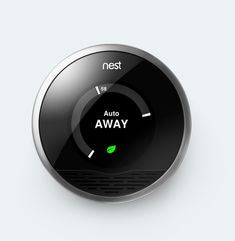 I like this thermostat.  It looks like HAL from 2001: A Space Odyssey