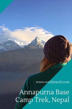 Alles wat je wilt weten over de trektocht naar Annapurna Base Camp in Nepal! #annapurnabasecamp #nepal Fitness Blogs, Ultimate Travel, Outdoor Travel, Nepal, Trek, Travel Guide, Hiking, Calm, Camping