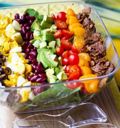 The Vegan Cobb Salad #vegan #recipes