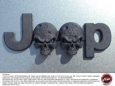 #CuzitsCustom Zombie Skulls Emblem for Jeeps