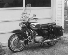 When I purchased this 1966 Honda 305 Dream, it was all in pieces scattered all over the garage floor.