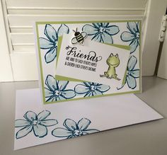 Laura's Creative Moments: Love You Lots - Garden in Bloom - Stampin' Up!