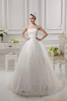 vestidos de novia de tul princesa 2014