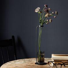 Blackened Brass Stem Vase on Food52