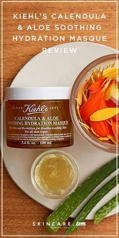 Introducing Kiehl's new Calendula & Aloe Soothing Hydration Mask. Made with dry skin types in mind, this nourishing facial mask can soothe, hydrate, protect, and more! See why this hydrating face mask is our dry skin go-to in our product review, here.