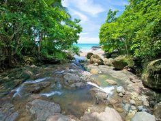 Piedra Colorada #river next to Ylang Ylang Beach Resort, Montezuma, Costa Rica