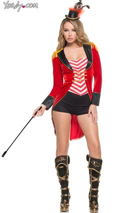 Sexy Halloween Costumes for Women, 2019 Adult Halloween Costume Ideas Sexy Halloween Costumes, Halloween Dress, Halloween Party, Halloween Makeup, Lion Tamer Costume, Ringmaster Costume, Britney Spears, Costumes For Women, Dress Up