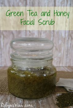 Pamper yourself with this Green Tea and Honey Face Scrub - Robyn's View