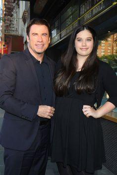 John Travolta and daughter Ella Bleu