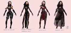 Hanan outfit redesign by airagitt on DeviantArt