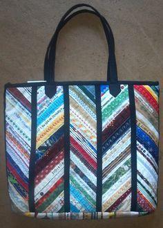 Selvage bag. I use