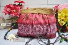 beautiful wind red butterfly Bohemia gril's MINI straw bag shoulder bag purse  #Unbranded #MessengerCrossBody