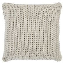 Buy John Lewis Croft Collection Ribbed Knit Cushion Online at johnlewis.com