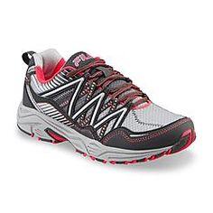 Fila Women's Headway 6 Gray/Pink Trail Running Shoe