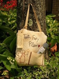 Tooth Fairy Pillow by thislittlestitch on Etsy, $8.50