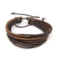100% hand woven Fashion Jewelry Wrap multilayer Leather Braided Rope Wristband men bracelets & bangles for women-in Charm Bracelets from Jewelry on Aliexpress.com | Alibaba Group