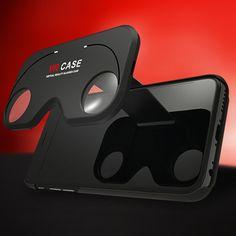 VR Bril Case - Samsung Galaxy S6 Rosé  Handige smartphone case met VR lenzen die je overal kan meenemen. Met dit VR hoesje op broekzakformaat bekijk je al je films en video's in 3D.  EUR 17.95  Meer informatie