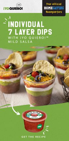 Yummy Appetizers, Appetizers For Party, Appetizer Recipes, Mexican Dishes, Mexican Food Recipes, Seven Layer Dip, Amai, Christmas Appetizers, Halloween Food For Party