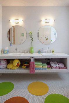 Merveilleux 30 Playful And Colorful Kidsu0027 Bathroom Design Ideas