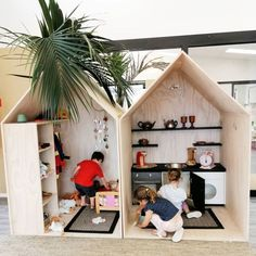 160 fun kids playroom ideas to inspire you - page 34 Toy Rooms, Kid Spaces, Play Houses, Kids Playing, Kids Bedroom, Baby Room, Toddler Bed, Nursery, Playroom Ideas