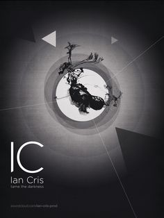 Visual ID for Ian Cris visual.03 (electronic music producer and DJ) 12/12