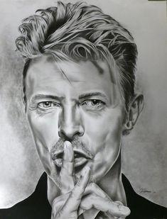 Stars Portraits - Portrait de David Bowie par coco11 - 1