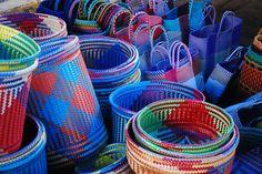 Norma Hawthorne | Plastic Woven Baskets - Ocotlan, Jalisco, Mexico (2011)