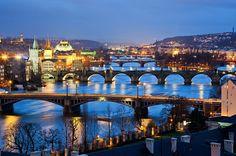 ❤️❤️❤️.  Praga.   la città più grande della Repubblica Ceca.  ❤️❤️❤️