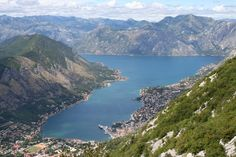 View from the fortress in Kotor, Montenegro End Of The World, Travel Around The World, Around The Worlds, Montenegro Kotor, Adriatic Sea, Wilderness Survival, Great View, Croatia, Places Ive Been