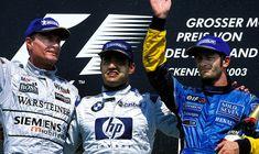 🏆🏁 🚦🇩🇪 #formula1 #f1 #formulaone #thef1weekend #race #racing #germanyGP #onthisday #bestoftheday #accaddeoggi Il #3agosto 2003, Montoya vinse con grande autorità il GP di Germania, mentre Schumacher forò un pneumatico, lasciando il podio a Coulthard e Trulli.