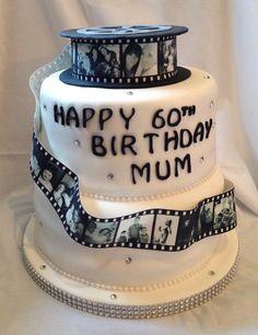 Lovely photo reel cake