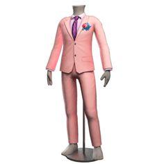Cole Minimalist Grooms Suit - Rose