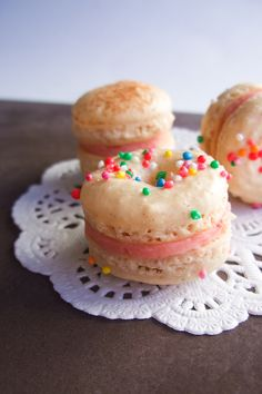 Doughnut Macarons, and this is gluten free but looks like wayyy to many ingredients and time so maybe will have to wait