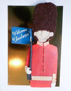 Gâteau d'anniversaire Garde Royale Anglaise • Welsh gard birthday cake by Pâtisserie Chez Bogato 7 rue Liancourt, Paris 14e. Ouvert du mardi au samedi de 10h à 19h. Tel. 01 40 47 03 51 Cake Design Birhtday cake Gâteau d'anniversaire