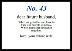 Little love notes to my future husband #43