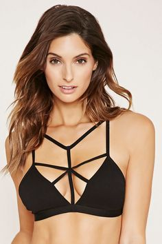 Caged Seamless Bralette