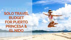 Solo Travel Budget for Puerto Princesa and El Nido, Palawan