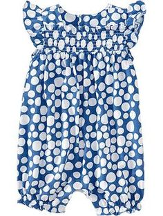 $9.00 Printed Bubble One-Pieces for Baby | Old Navy