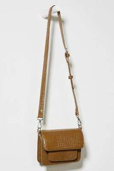 Caymen Petite Crossbody Bag By HVISK, commission link Peta, Purses And Handbags, Anthropologie, Crossbody Bag, Link, Green, How To Wear, Color, Style