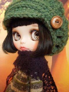 Aguri * Custom Blythe * Black Hair Bob  Buy her here:   #blythe #blythedolls #kawaii #cute #rinkya #japan #collectibles #neoblythe #customblythe