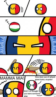 Countryball Italy can't catch a break