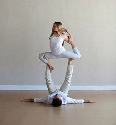 Love the idea of acro yoga engagement photos... if only I did acro, or was engaged, or was dating a guy that would EVER do yoga...