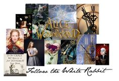 """""""Alice in Wonderland"""" by sixela14 ❤ liked on Polyvore featuring art"""