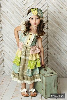 de332590928 Mustard Pie Girls Shangrila Juliet Dress Boutique Dresses