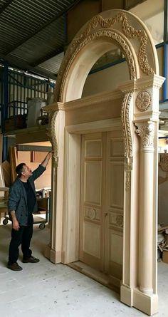 Doors entry, Would you look at that! Door Gate Design, Door Design Interior, Wooden Door Design, Main Door Design, Front Door Design, Wood Front Doors, Wooden Doors, Entry Doors, House Doors