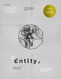 33 / Entity by Chén Fan, via Behance