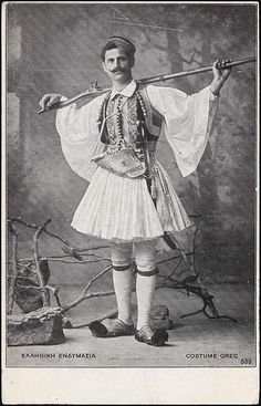 Albanian Culture, Greek Culture, Warrior Costume, Folk Costume, Old Pictures, Old Photos, Greek Independence, Indian Contemporary Art, Greek Warrior