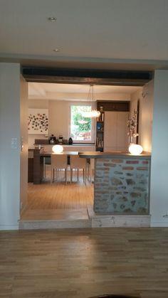 Conceptions de bar de maison sur pinterest conceptions de bar de sous sol wet bars et bars - Decoration cuisine avec ouverture sur le salon ...